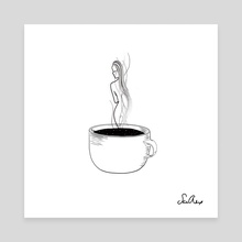 in my cup - Canvas by sad alex