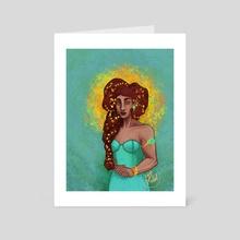 Sunbringer - Art Card by Del