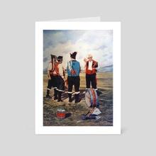 CUADROS0035 - Art Card by Jose Castro Dopico