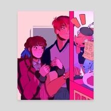 arcade date - Canvas by Aubrey