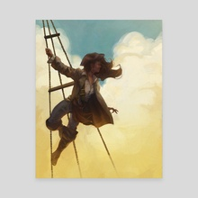 Crows Nest by Alex Innocenti - Canvas by Artists for the People
