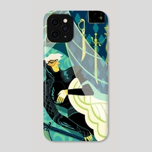 Four of Swords - Phone Case by Xanthe Bouma