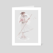 Undine - Art Card by Cynthia Tedy