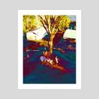 Somewhere - Art Print by hueniverse