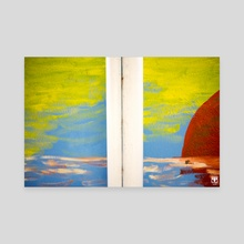 Two Colours. - Canvas by Parag Phadnis