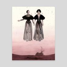 Sisters Cassandra - Canvas by Shaima