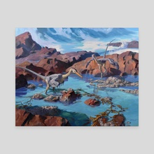 Buitreraptors - Canvas by Jordan K Walker