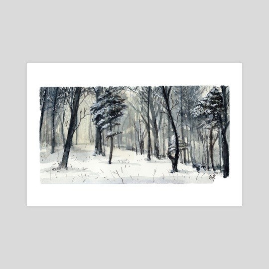 Another Winter in the Woods by Kendall Stump