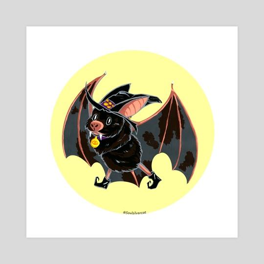 Halloween Bat by Jessica Bayerlein
