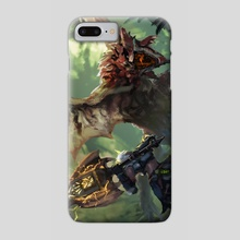 Monster Hunter-Rathalos ChargeBlade - Phone Case by CGlas