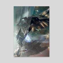Escape Velocity - Acrylic by Adam Burn