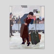 The Reunion - Acrylic by Michelle Kondrich
