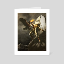 Prometheus - Art Card by Xav DRAGO