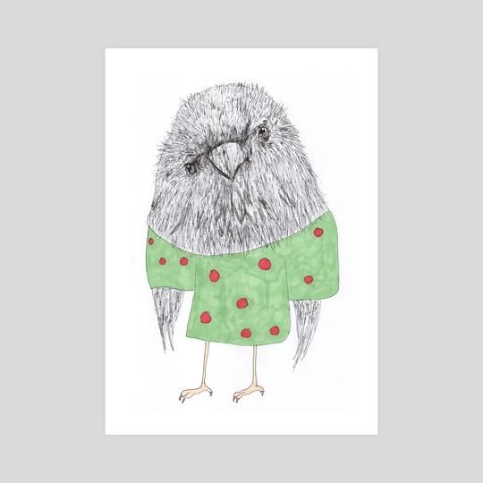 Dots bird by Galeria Ginkgo