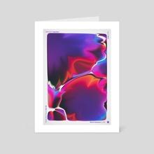 """WWP 209 """"intention"""" - Art Card by Martin Naumann"""