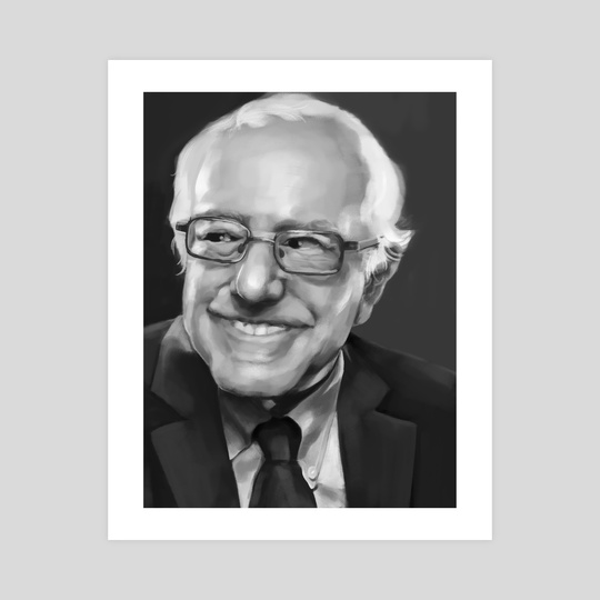 Bernie Sanders by James Hanson