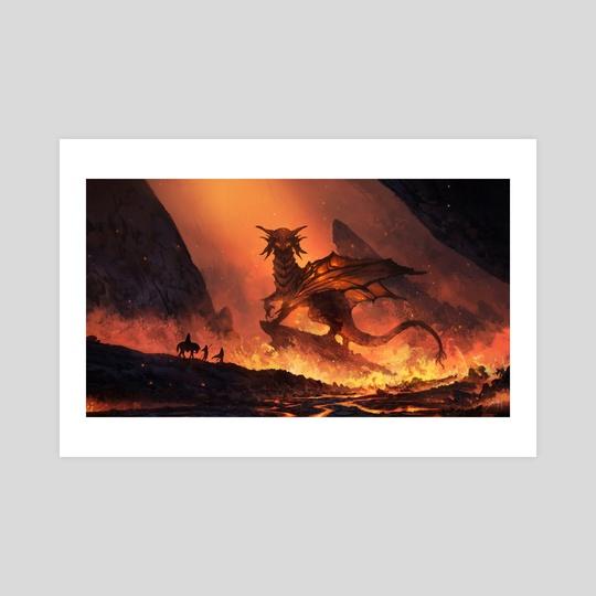 God of Fire by Jorge Jacinto
