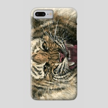 Tiger - 31 - Phone Case by River Han