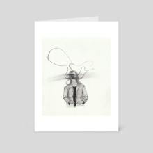 lies - Art Card by Karina Cardona