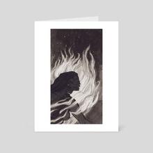 Firebringer - Art Card by Auden George