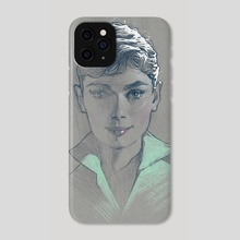 Audrey - Phone Case by james martin