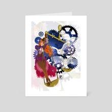 Libra Zodiac Sign - Art Card by Fanny BONENFANT