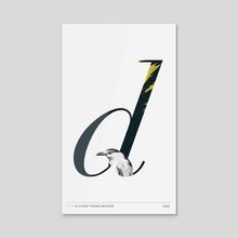 Birds'd' - Acrylic by Bobby Rogers