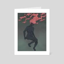 Clouded Mind - Art Card by Lola Nankin