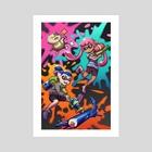 Splatoon - Art Print by Amy Gerardy