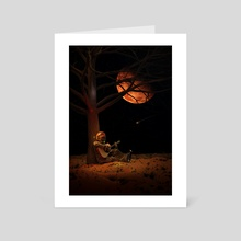 Moonlight Jam - Art Card by Nicebleed