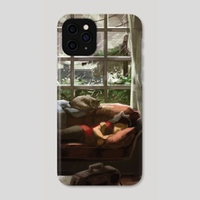 Cozy Rain - Phone Case by Lucy He