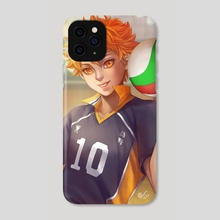 Hinata Shoyo - Phone Case by Leoren
