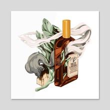 Perfume - Acrylic by Nikoli Shaver