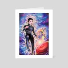 Roger Zelazny's Isle of Dead - Art Card by Alina AllieChi