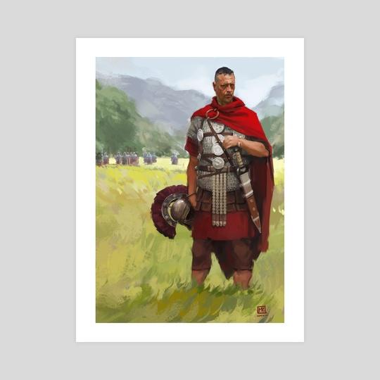 Roman Centurion by Miguel Iglesias