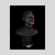 Moru III - Canvas by Ntokozo Shozi