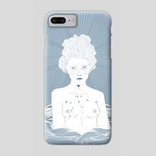 Aquarius - Phone Case by Celandine Mitchell Cotts