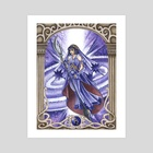 Sailor Saturn - Art Print by Fanciful Dewdrop