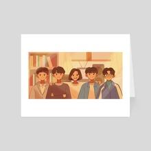 Reply 1988 Squad - Art Card by Mariz Dela Cruz