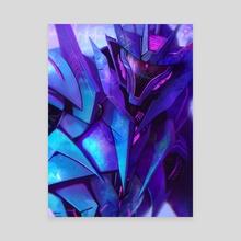 Soundwave - Canvas by Aurora Lion