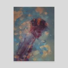 Sentimental Noir - Canvas by Damir Martic