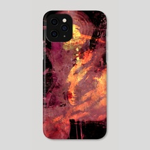 STP Screen Transfer Process - 0097 - Trembling Against Wood 2 - Phone Case by Wetdryvac WDV