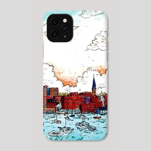 Harbor - Phone Case by Gouache & Ink