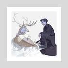 the dream - Art Print by awanqi