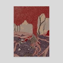 Suntree - Canvas by Aleta Pérez