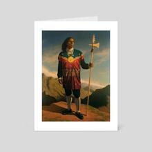 Tupac Amaru II - Art Card by Manuel Adrianzen