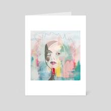 Crazy Inside - Art Card by Lori Bartel