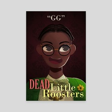 Dead Little Roosters - Ify Nwadiwe - Canvas by Alexandria  Siah