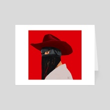 Orville Peck - Art Card by Max Romero