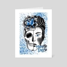 Muerte Dulce - Art Card by Brent Bonesaw